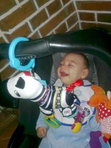 Dostałem zebrę na mój pierwszy Dzień Dziecka!